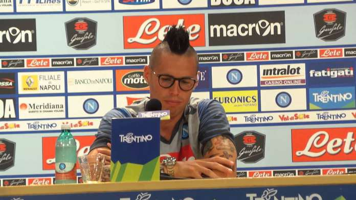 Marek Hamsik del Napoli