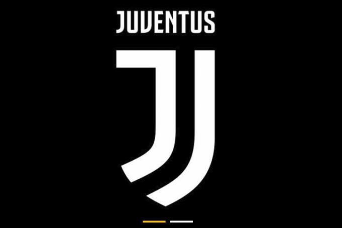 Il nuovo logo della Juventus