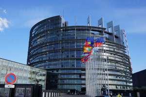Strasburgo, la sede del parlamento europeo