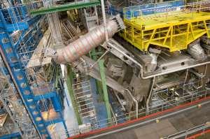 Un dettaglio della macchinetta del caffè del CERN di Ginevra
