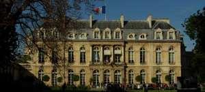 Un particolare della casa prenotata da Macron per le prossime vacanze