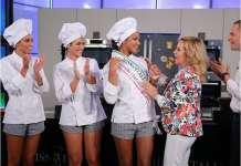 Le concorrenti di Miss Italia, pesantemente cazziate dall'organizzazione a causa dei vestiti accollati