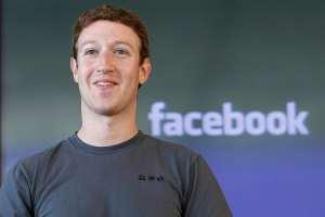 Mark Zuckerberg se la ride, non si sa bene il perché