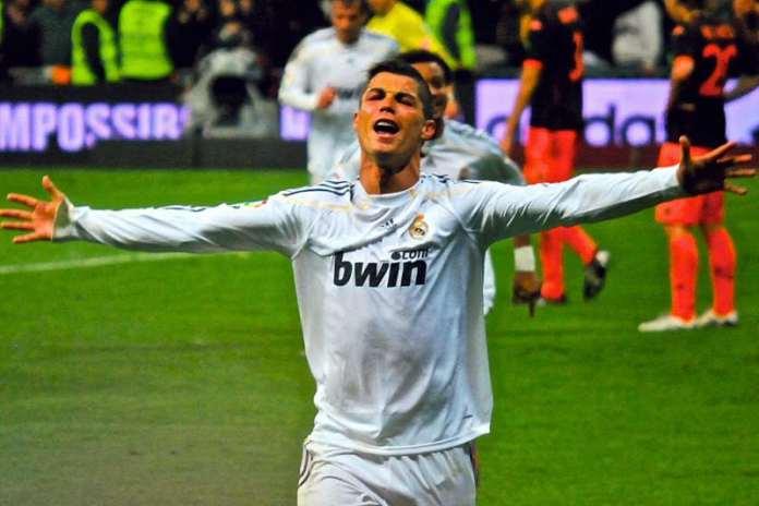 Cristiano Ronaldo subito dopo aver dichiarato: