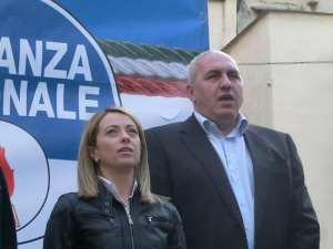 Giorgia Meloni e il suo fodero